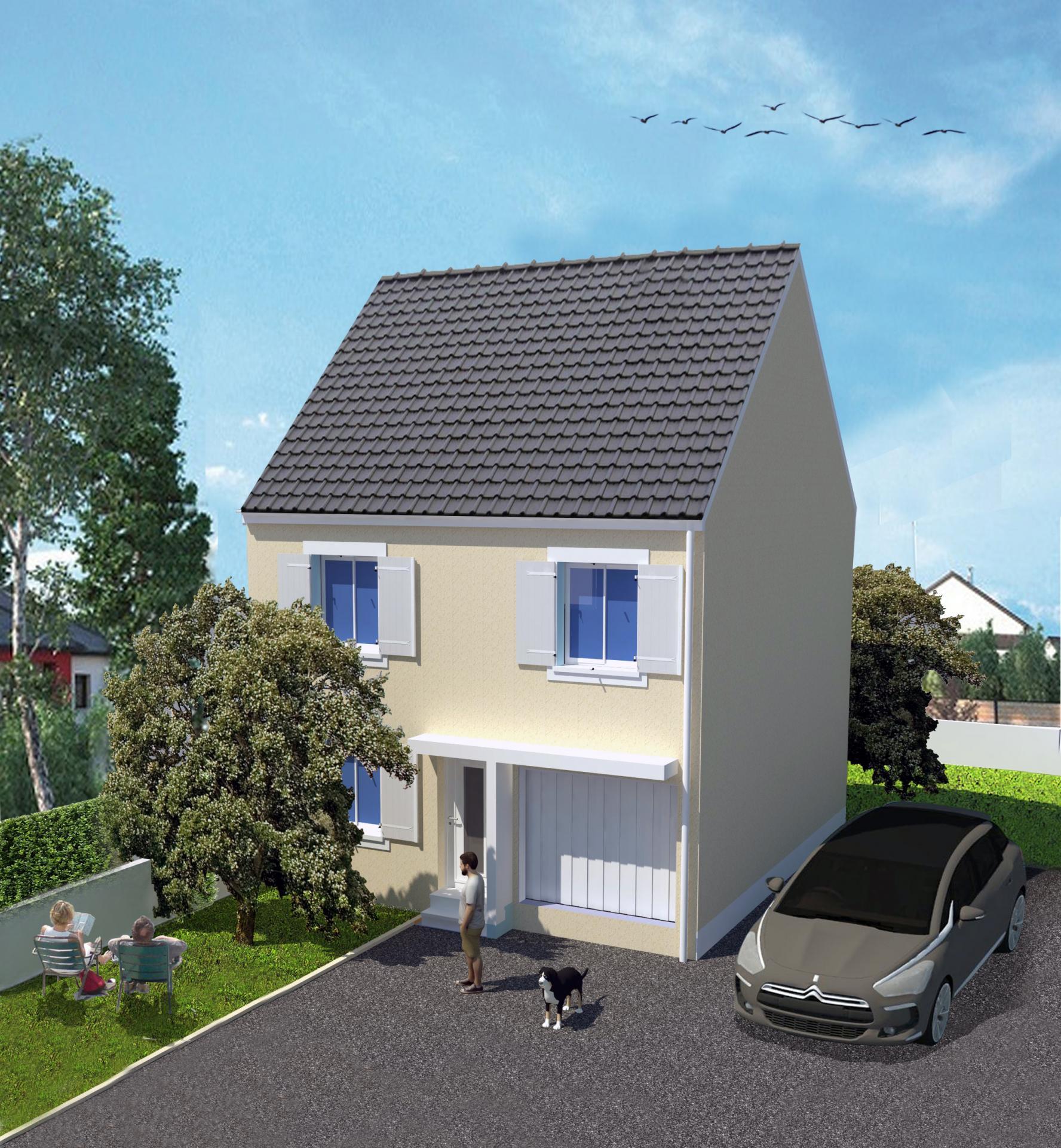 3d mod lisation 3d mod lisation ext rieur maquette 3d. Black Bedroom Furniture Sets. Home Design Ideas