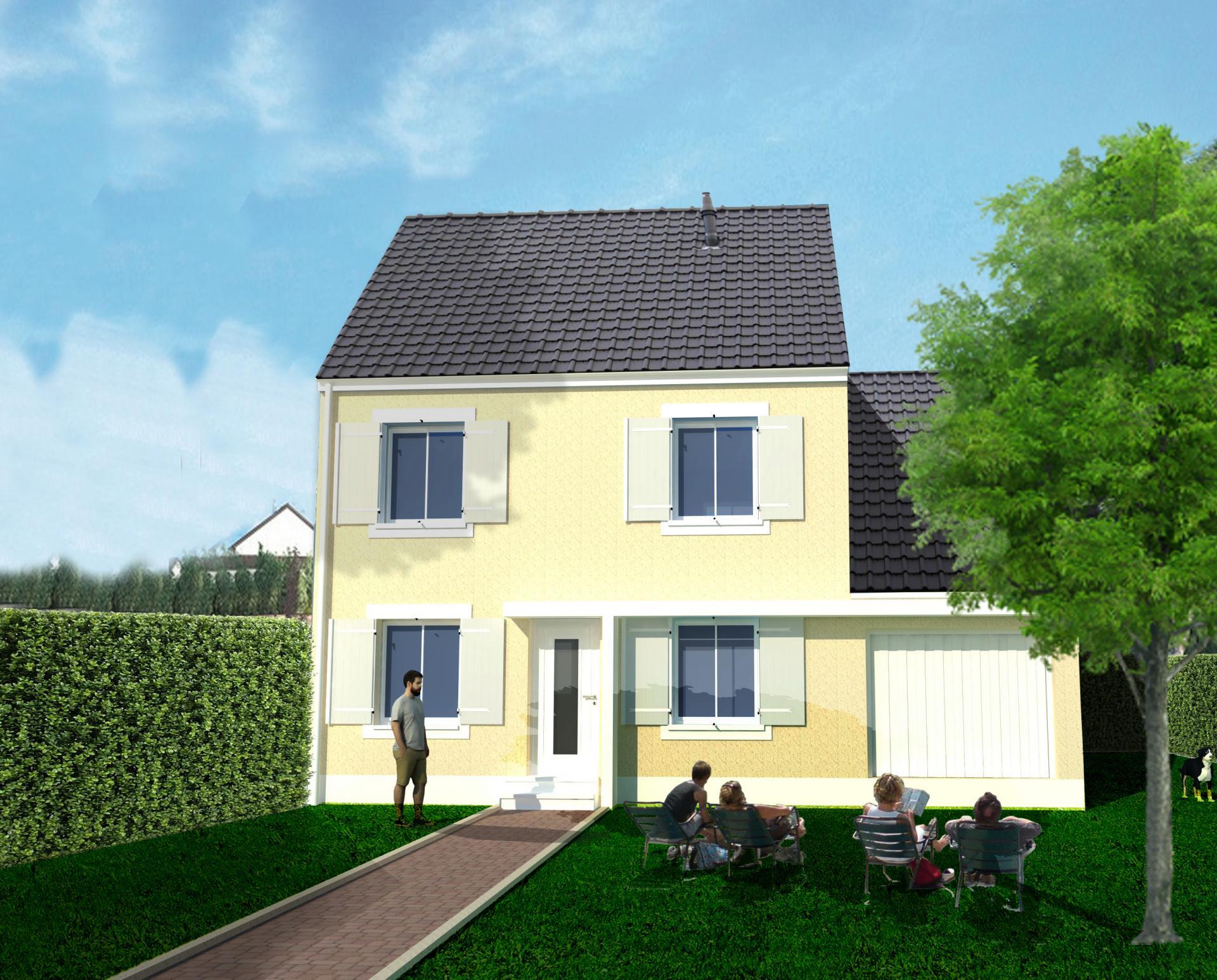 3d mod lisation 3d mod lisation ext rieur maquette 3d for Exterieur maison 3d